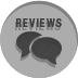 reviews social media icon